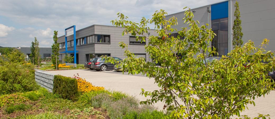 Exterior view of the Wagener Hydraulik company building in Hattingen